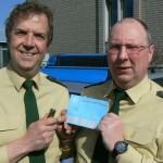 Polizei Gütersloh vergibt Bonuspunkte für vorbildliches Verhalten