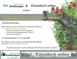 Künsebeck schönster Garten 2009