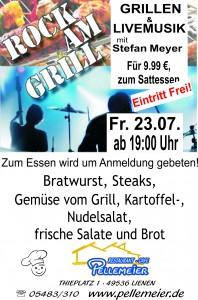Rock am Grill 1x A4