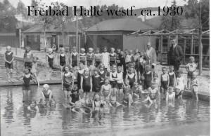 Lindenbad Halle/Westfalen Anno 1950