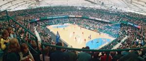 Auch in der Handball-Bundesliga-Saison 2010/2011 wird der TBV Lemgo wieder drei seiner Heimspiele im GERRY WEBER STADION in HalleWestfalen austragen. © GERRY WEBER WORLD (HalleWetsfalen)