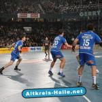 Öffentliches Training des Handball-Bundesligisten TBV Lemgo