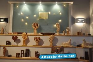 Ausstellung: Die kreative Holzwerkstatt am Künsebeckerweg 46, am Recyclinghof in Halle-Künsebeck