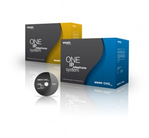 snom ONE IP telephony system (ONE free, ONE yellow, ONE blue)