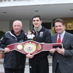 WBO-Weltmeister Marco Huck bezog Quartier im GERRY WEBER Sportpark Hotel