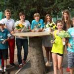 Knapp 100 Juniorinnen und Junioren spielten ihre Titelträger in der U12 bis U16 aus