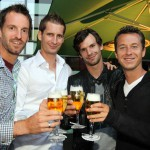 "Komplettes deutsches Davis Cup-Team bei ""Players Party"" am Start"