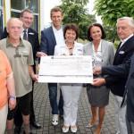 Turnierinitiatoren der GERRY WEBER OPEN überreichen 5.000 Euro-Spende an Wertkreis