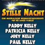 Vier der Kelly Family präsentieren eine musikalische Weihnachtsgeschichte