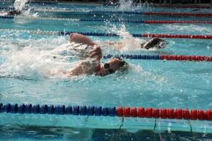 100 m Freistilrennen Daniel Akkermann