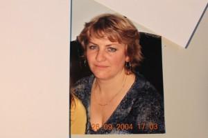 Neli Graf ein bekanntes Gesicht vieler Haller Bürger vom Discounter Lidl in Halle Westfalen
