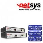 Stromversorgung über VDSL Leitung, die Datenleitung über ein 2-Draht-Kupferkabel