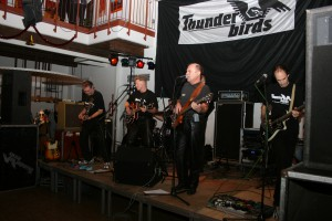 Thunderbirds Konzert in der Haller Remise