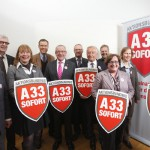 Landrat Adenauer fhrt Aktionsbndnis A 33 sofort