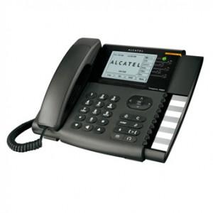 Das Alcatel-Phones Temporis IP800 ist ein erstklassiges IP-Telefon für den VoIP-Service mit reichhaltigen Leistungsmerkmalen. Das Top-Gerät der Temporis Serie besitzt neben der Basisausstattung weitere Funktionen um die Kommunikation mit Ihrer Firma zu steigern. Temporis IP800 ist ein neues Multifunktionsgerät, das besonders für den Büroeinsatz konzipiert ist und keine Wünsche offen lässt.