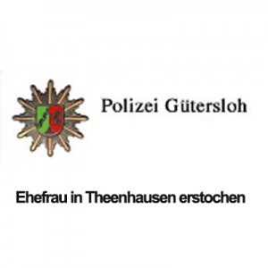 Frau in Werther Teenhausen erstochen - Familientragödie