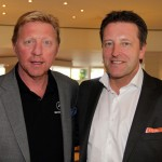 Boris Becker zu Gast bei den 20. GERRY WEBER OPEN  Das ist ein Schauplatz, der internationales Ansehen geniet