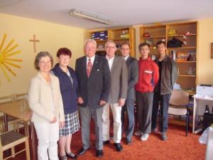 Anlass des 20jährigen Bestehens der Partnerschaft des Kreises Gütersloh mit Valmiera hat eine Haller Delegation dort in der vergangenen Woche einen Besuch abgestattet