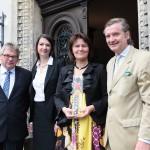 """Ausgezeichnet: Schloss Wendlinghausen ist mit """"Gartenbühne – Bühnengärten"""" ein """"Ausgewählter Ort 2012"""""""