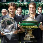 Tommy Haas entzaubert Roger Federer im Finale des Jubilumsturniers