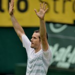 Routinier Haas fordert Rekordsieger Federer im Finale der 20. GERRY WEBER OPEN