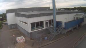 Lindenbad wartet auf sein Abriss mit Live-Webcam vom alten Lindenbad (10.07.2012), Quelle: www.lindenbad.de
