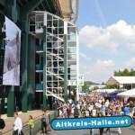 NRW-HalleWestfalen ist Pausenort Radtour 2012