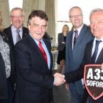 Aktuelles & Aktion: Groschek will A33-Lückenschluss auch