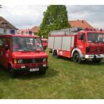 Feuerwehrkameraden aus Versmold in Magdeburg-Schönebeck