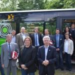 An der touristischen Perlenschnur entlang: Der Naturparkbus erfreut sich wachsender Beliebtheit