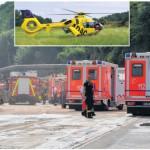 46-jähriger Arbeiter aus Borgholzhausen erleidet bei Arbeitsunfall auf der Bauschuttdeponie schwerste Verletzungen