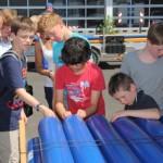 MINT-Ferien: Erste Station bei Haller Energieversorger