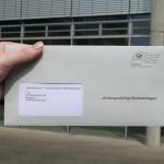 Wahlbenachrichtigung: Brief statt Karte