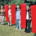 6. Skulpturenpfad vom 6. bis 8. September bietet spannende Ein- und Ausblicke / Vernissage am Freitag um 18 Uhr
