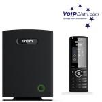 VoIPDistri.com präsentiert neue snom M700 IP-DECT Multizellen-Basisstation und snom M65 DECT Handsets