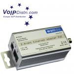 VoIPDistri.com verkauft innovative Speziallösung: kaskadierbare 2-Draht Netzwerkverbindung mit PoE