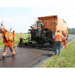Sperrung der Straße Nordgrenze wegen Brückenbauarbeiten