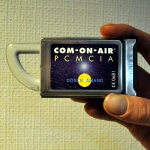 Dosch+Amand VoIP COM-ON-AIR PCMCIA DECT Controller ermöglicht das abhören von unverschlüsselten Telefonen