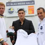 """Box-Europameister Marco """"Käpt'n"""" Huck besucht die WM-Stätte"""