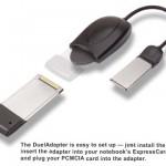 ExpressCard auf PCMCIA Card Slot