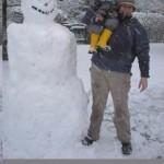 Gewinnspiel im Schnee