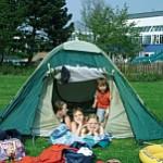 Badespaß-Zeltlager im Lindenbad