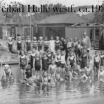 Barbara Dölker: Anekdote vom Lindenbad - Anno 1950