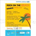 Rock On The Beach 2010