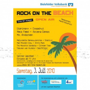 03.07.2010 Rock On The Beach am Senner Waldbad