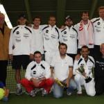 1. Tennis-Point-Bundesliga Herren - Blau-Weiss Halle besiegt TC Amberg am Schanzl - Es reicht nur zur Vizemeisterschaft