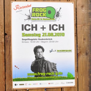 Ich + Ich FROG ROCK Open Air Konzert in Quakenbrück