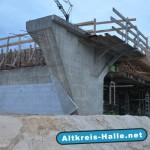 A33 Brückenbau Steinhagen nimmt sichtbare Formen an