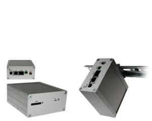 Conel ER75i-SL Mobilfunk Router auf Hutschiene DIN TS35 / TS32