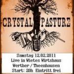 Liveband: Crystal Pasture im Wietes Wirtshaus